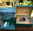 Rolex 16600 Sea Dweller F Serial, No Holes, w/Box and Papers