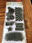 Tim Holtz Stampers Anonymous Cling Mount Stamps Visual Artistry Grunge Cirque