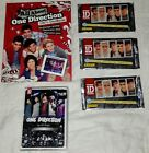 One Direction Collection Panini Three 6-Packs Trading Cards, Dvd, And Book