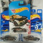 Hot Wheels Lot of 25 Black-Themed Cars ~ Inc 2 Treasure Hunts ~ See List