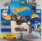Hot Wheels Lot of 25 Hot Rod-Themed Cars ~ Inc 1 Treasure Hunt ~ See List