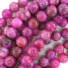 Purple Pink Crazy Lace Agate Round Beads 155 Strand 4mm 6mm 8mm 10mm 12mm
