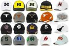 NCAA COLLEGE HAT FLEX FIT TOP OF THE WORLD STRETCH FITTED CAP ALL SIZES BASEBALL