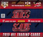 2015 Score Football sealed box 24 packs of 12 NFL cards 1 hit