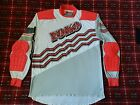 vtg 80s 90s Motocross Jersey Yoko Race wear XL padded retro dirt bike gear 50 50