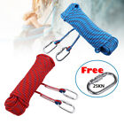 10 30M 10mm Static Rescue Rope Rock Climbing Rappelling Tree Arborist Cord Sling