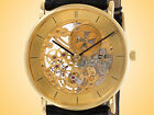 Vacheron Constantin Vintage Skeletonized Manually Wound 18K Yellow Gold Watch