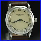 VINTAGE VACHERON & CONSTANTIN VERY RARE STAINLESS STEEL MENS WATCH