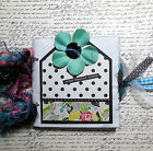 Paper Bag Scrapbook Pre Made Photo Album 10 Pages plus Cover Beautiful Moments