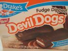 FUDGE DIPPED DEVIL DOGS BY DRAKES CAKES! 1 Box!