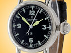 Chronoswiss Timemaster Manual Wind Stainless Steel Watch CH 6233BK - MSRP $7,950