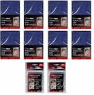 Ultra Pro Tobacco Top Loaders lot of 200 w 200 sleeves NEW Toploaders