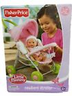 Fisher-Price Little Mommy Newborn Doll Stroller For Dolls Up to 18 (Bad Box)