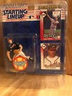 1993 STARTING LINEUP EXTENDED SERIES GREG MADDUX FIGURE W/ 2 COLLECTIBLE CARDS