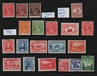 Australia 20 early mint stamps cat  8110