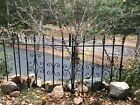 Antique Wrought Iron WINDOW GATE Guard- Architectural Salvage - 2 pieces
