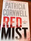 Signed by Patricia Cornwell RED MIST Hardcover