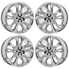 20 CHEVROLET TRAVERSE PVD CHROME WHEELS RIMS FACTORY OEM SET 4 ALYTRAV1820U35