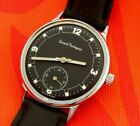 VINTAGE GIRARD PERREGAUX BLACK DIAL FLUORESCENT NUMBERS 34.4MM CASE MANUAL WIND