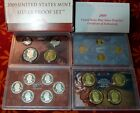 2009 United States Mint Silver Proof 18 Coin Set Incl 4 New Lincoln Cents