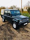 Land Rover Defender 110 Double Cab Pick Up Truck Damaged Not Recorded
