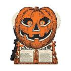 Beistle Halloween Party Decoration J O L Fortune Wheel Game 9 x 7 1 2