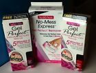 Nutra Nail Gel Perfect Gel Nall Polish & Remover ~ 3 Pack Lot #2