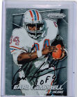 2014 PANINI PRIZM EARL CAMPBELL OILERS HAND SIGNED AUTO CARD#197