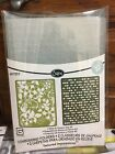 Dots  Flowers 2 Sizzix Textured Impressions Embossing 2 Folders RETIRED NEW