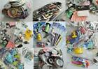 MASSIVE 15 lb Scrapbook Craft LOT Stickers Clips Chips Die Cuts Ribbon Pins HUGE