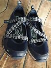 Womens Ryka Kailee Navy Blue Mesh Adjustable Strap Mary Jane Sneakers Shoes 65