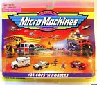 WAY COOL 1998 34 COPS N ROBBERS COLLECTION GALOOB MICRO MACHINES NIP NEW