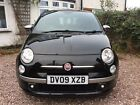 Fiat 500 by diesel Special Edition FULL MOT New brakes Petrol Black Sport