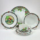 Mary Engelbreit HOME SWEET HOME 5Pc Dinnerware Set(s) Cup Bowl Plate Sakura 1994