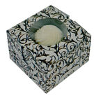 Lot of 6 Black and White Wedding Shower Cupcake Favor Boxes