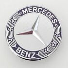 NEW MERCDES C E SL CLK CLS S CLASS HOOD EMBLEM ORNAMENT A2048170616 FLAT FIT USA