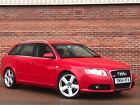 LARGER PHOTOS: 2006 / 56 AUDI A4 AVANT 2.0 TDI S LINE 170 BHP MANUAL - FULL BLACK LEATHER SEATS