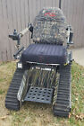 Electric Battery Powered Wheelchair All Terrain Off Road Track Chair 4X4 Tank