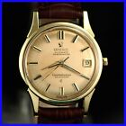 VINTAGE OMEGA CONSTELLATION 14393 CHRONOMETER 18K SOLID GOLD AUTO MENS WATCH