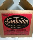 Sunbeam Juice Extractor Attachment For Mix Master Cat. # G205S / OPS-SEC43-CPR7
