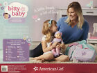 NEW American Girl 15 Bitty Baby 12 pc Set Fair Skin Brown Hair