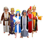 CHILDS NATIVITY COSTUME MULTI 6 PACK FANCY DRESS MARY JOSEPH SHEPHERD WISE MAN