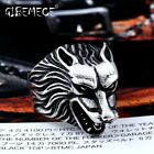 316L Stainless Steel ring top quality Super Cool Wolf biker Rings Fashion jewelr
