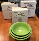 CHARTREUSE FIESTA 3 PIECE MIXING BOWL SET NEW IN BOX
