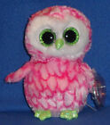 TY BEANIE BOOS - BUBBLY the OWL - CLAIRE'S EXCLUSIVE - MINT TAGS