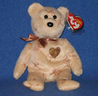 TY 2007 SIGNATURE BEAR BEANIE BABY - MINT with MINT TAG