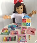 Coloring Books  Crayons for American Girl Doll 18 Accessories SET