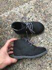 GYMBOREE black shoe toddler boy 8 worn2days clean