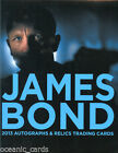 2013 JAMES BOND AUTOGRAPHS & RELICS OFFICIAL FACTORY SEALED BOX OF TRADING CARDS