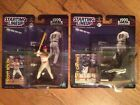 LOT OF 2, KENNER (1999) STARTING LINEUP, MLB, SCOTT ROLAND, TONY GWYNN FIGURES